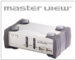 KVM 2/1 CS-1732A USB PS/2 Audio PC, MAC,SUN ATEN