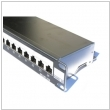 "Patch panel 19"" 1U RJ45 24-porty FTP Cat.5e Fibrain"