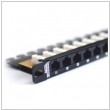 "Patch panel 19"" 0.5U RJ45 24-porty UTP Cat.5e Fibrain"