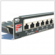 "Patch panel 19"" 1U RJ45 24-porty UTP Cat.5e Fibrain"