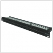 "Patch panel 19"" RJ-45 48 porty UTP cat.6"