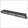 "Patch panel 19"" RJ-45 24 porty FTP Cat 6 ekranowany"